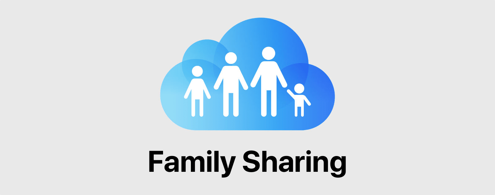 Image of Apple's Family Sharing icon. You can set up Family Sharing in iOS.