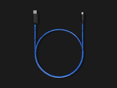 TAMO Charge-N-Glow MFi-Certified Lightning Cable