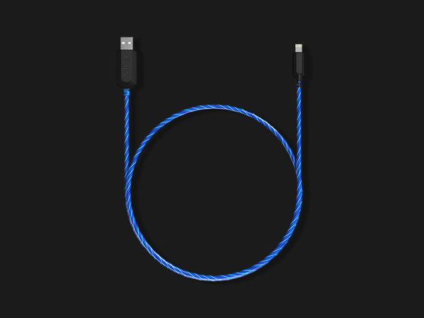 TAMO Charge-N-Glow MFi-Certified Lightning Cable: $18.99