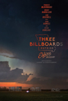 movie poster for three billboards, one of the 2018 oscar nominees
