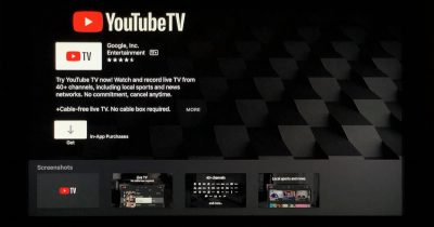 YouTube TV app for Apple TV