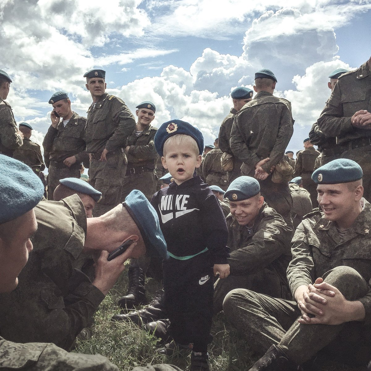 Image of Paratroopers Day in Pskov by Dmitry Markov.
