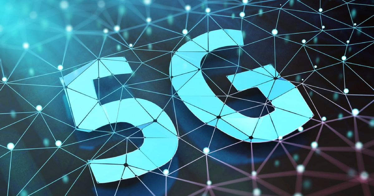 5G graphic (mesh). Verizon is in search of a 5G TV provider.