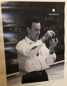 Think Different - Physicist Richard Feynman.