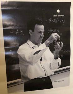 Think Different - Physicist Richard Feynman.