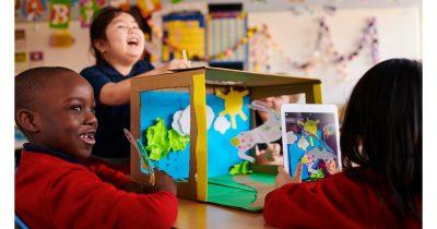 Apple's Everyone Can Create education program