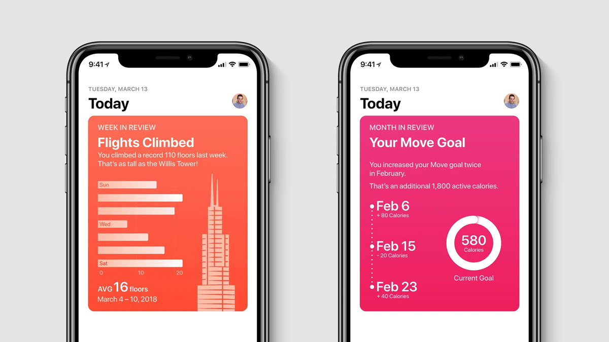 An Apple Health Concept Imagines a Motivational Health App