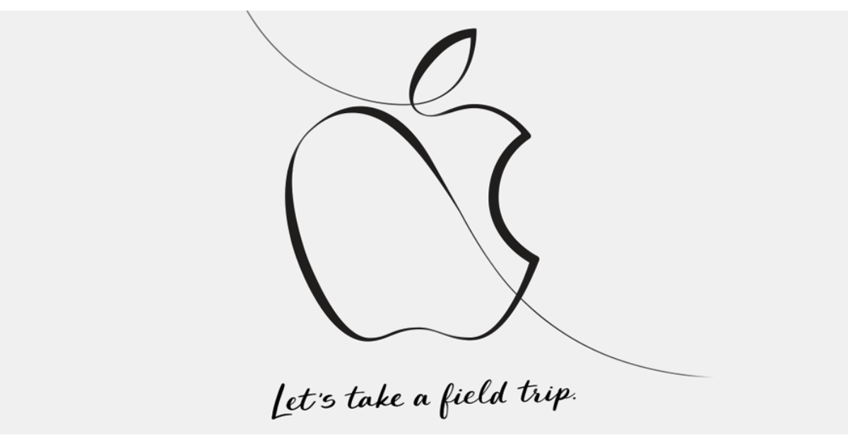 Apple Let's take a field trip media event