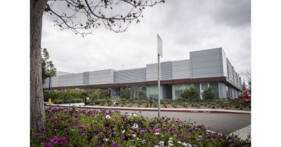 Apple's microLED plant in Santa Clara California