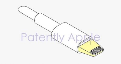 Apple patent application for a liquid-tight seal Lightning connector, as published by Patently Apple