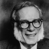 Image of Isaac Asimov for our Apple tv guide.
