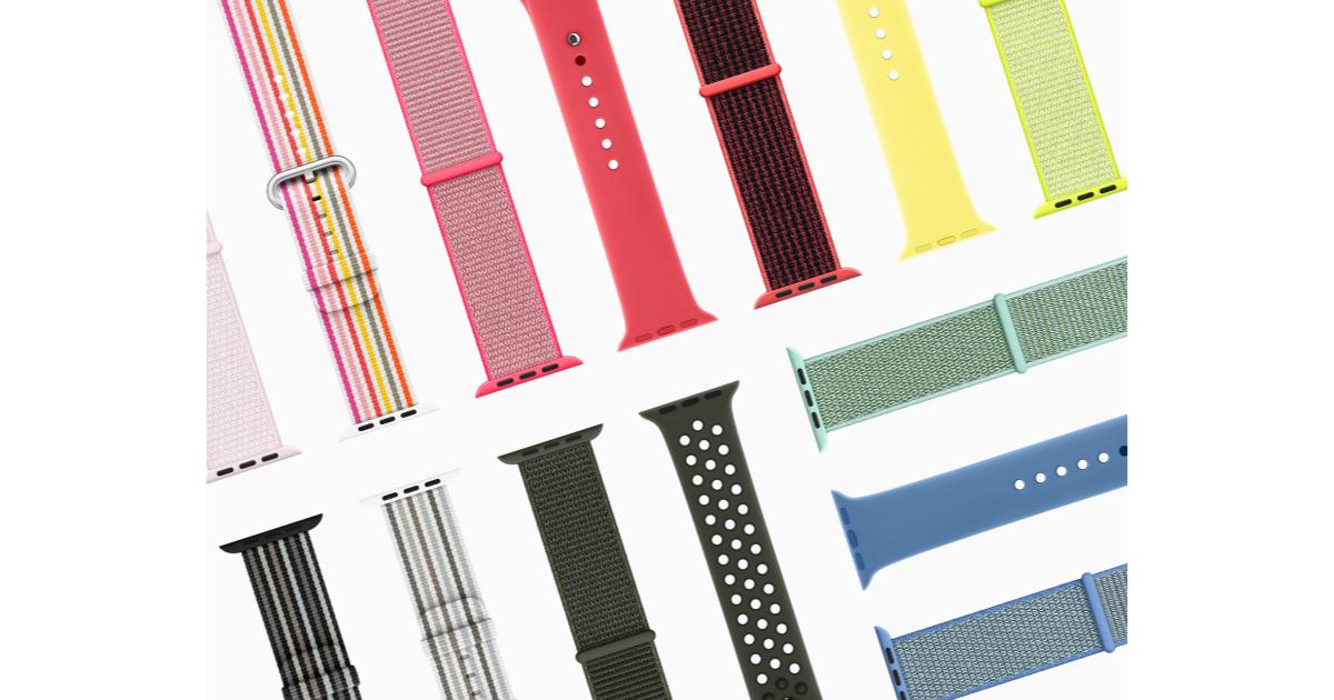 Apple Watch band designs spring 2018