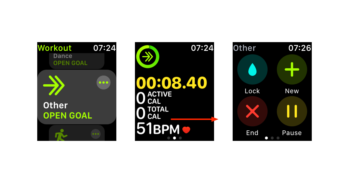 Track snow activity on Apple Watch as an open goal Other workout