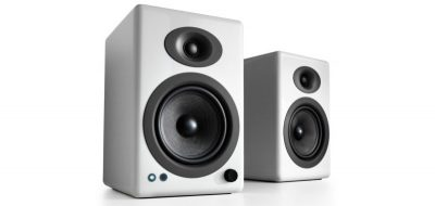 Audioengine A5+ Wireless Speakers in Hi-Gloss White