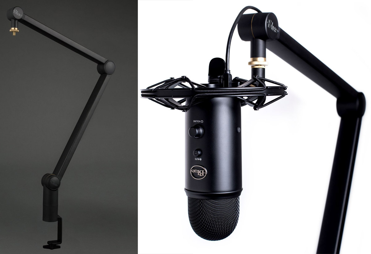 Blue Microphones Launches Compass, a Boom Arm Big Enough Even for a Yeti