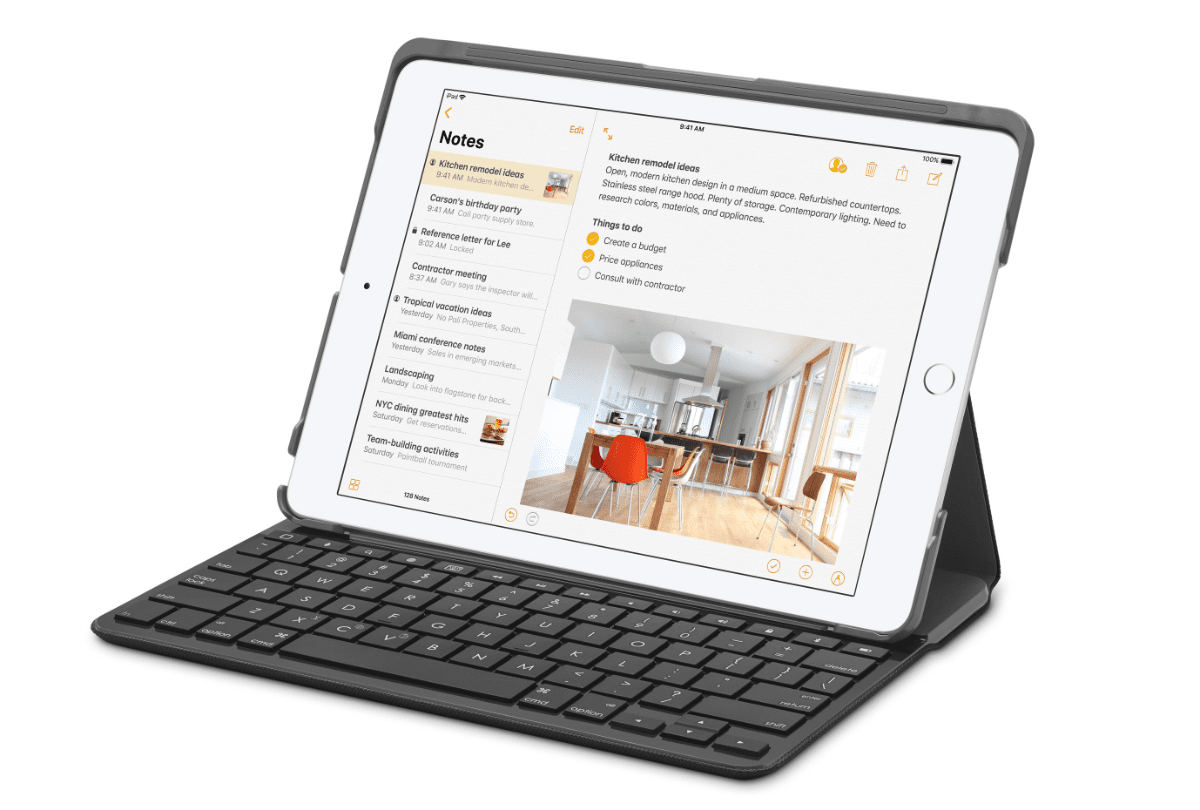 Image of the new education iPad released in March 2018.