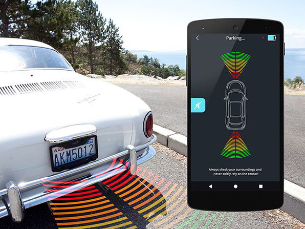 FenSense Smart License Plate Holder Sends Wireless Parking Data to Your iPhone: $119.99