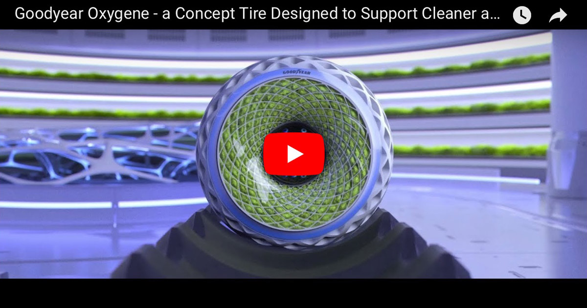 Goodyear Oxygene Concept Tire Video Screenshot