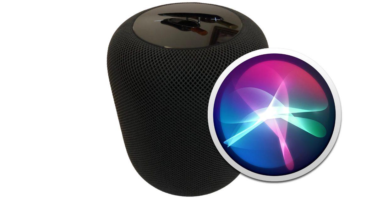 HomePod with Siri