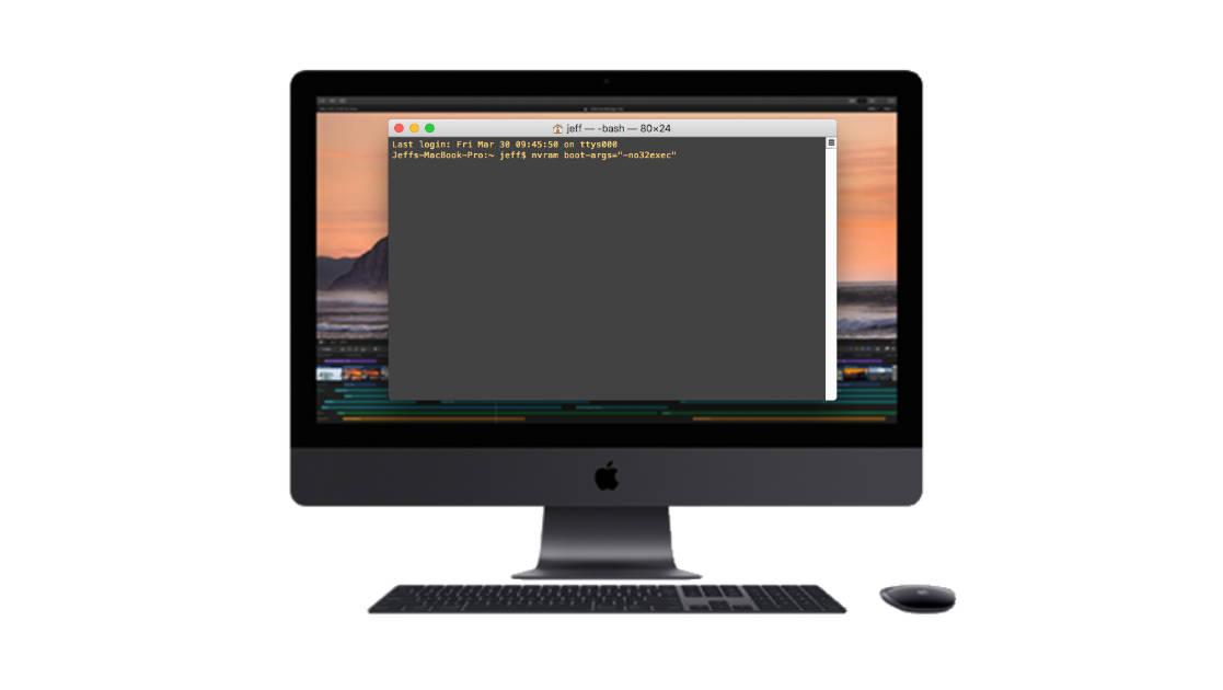 macOS 64-bit mode