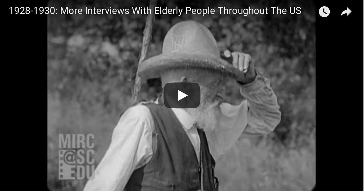 Interviews with the Elderly Screenshot