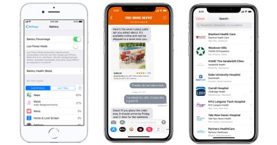 iOS 11.3 for iPhone, iPad, and iPod touch