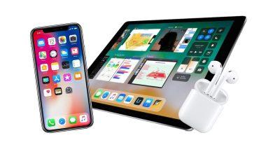 iPhone X, iPad Pro, AirPods