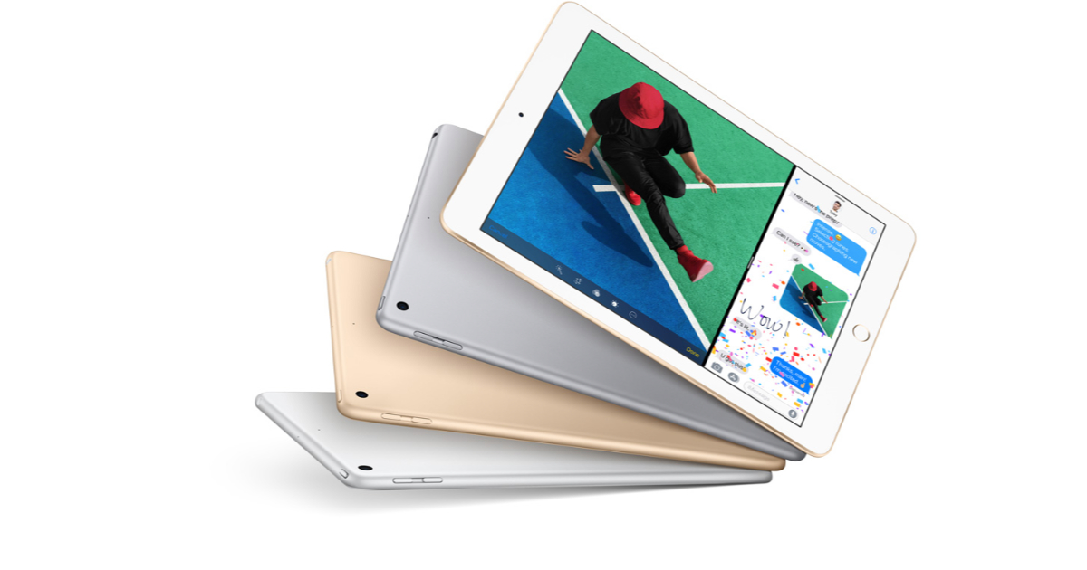 Apple introduces new $329USD iPad with Apple Pencil support