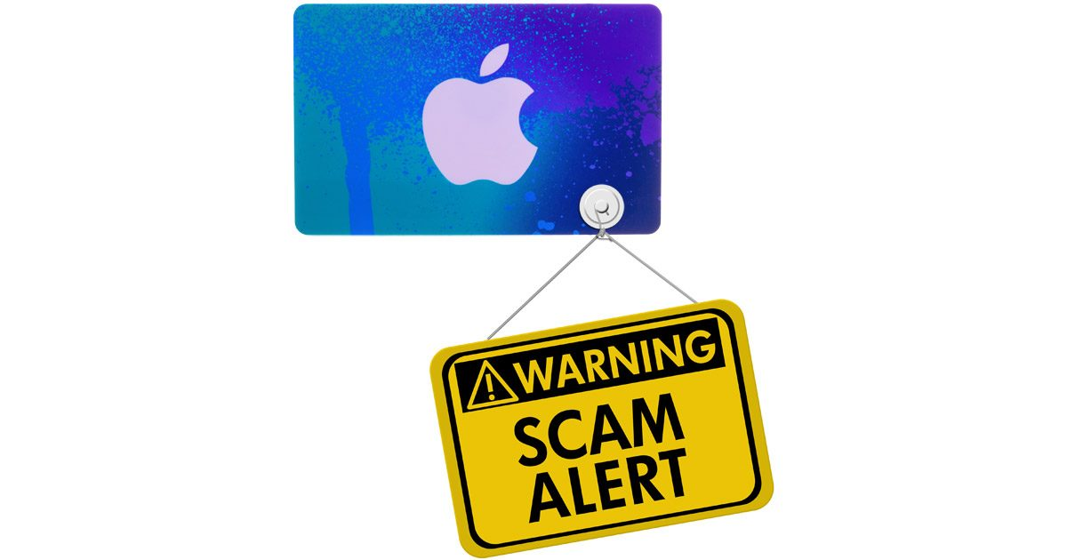 iTunes Card Scam Alert
