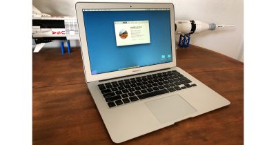 MacBook Air with macOS High Sierra 10.13.4
