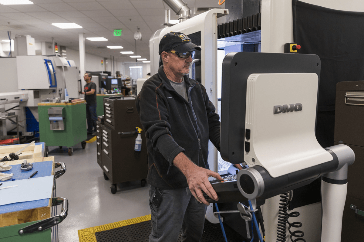 Image of The Machine Shop at Apple's Product Realization Lab. A new Mac Pro is coming, but not any time soon.