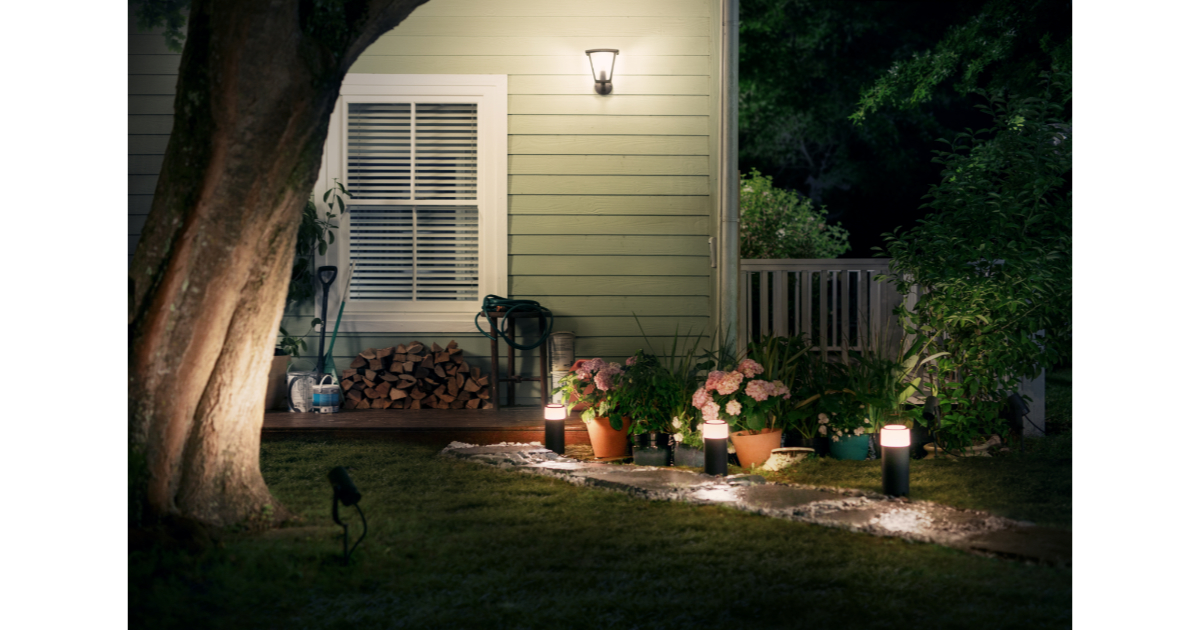 Philips announces complete range of Hue outdoor lighting