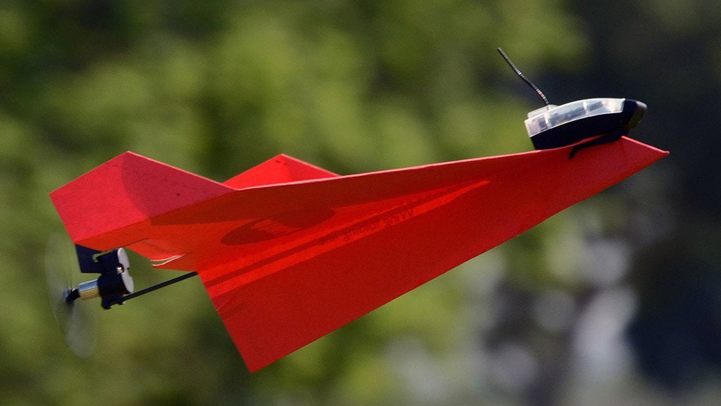This App Controlled Engine Lets You Motorize Your Paper Airplanes