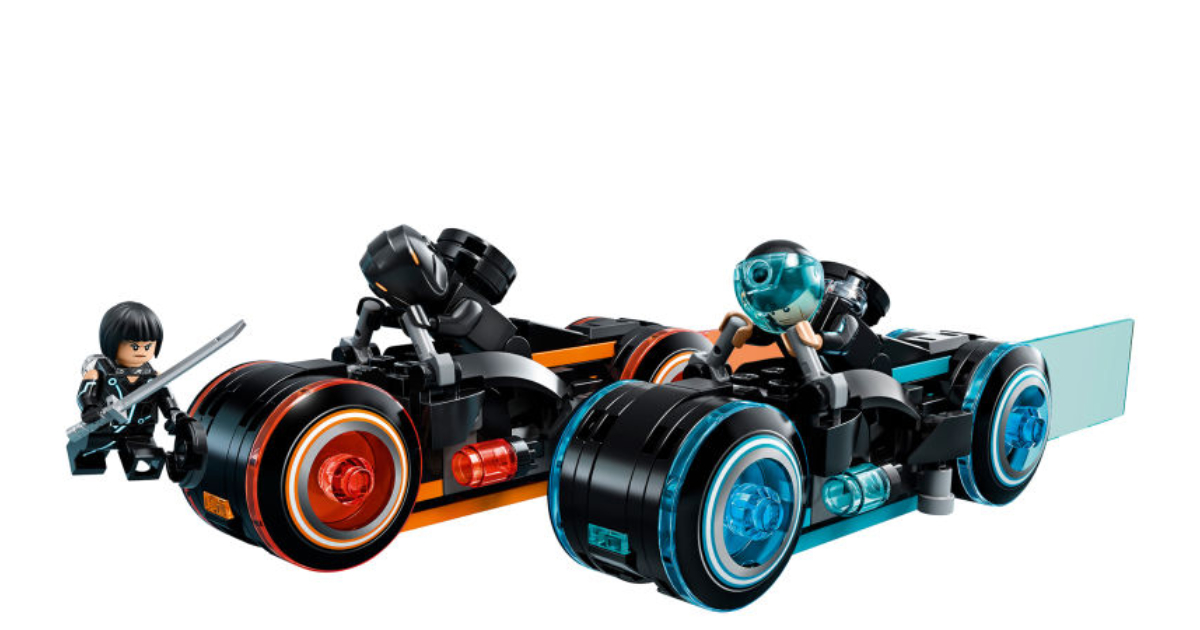Fight for the Users with Your Own LEGO TRON: Legacy Light Cycles