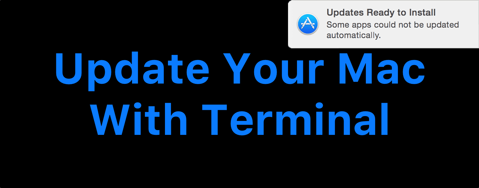 macOS: How to Update Your Mac in the Terminal - The Mac Observer