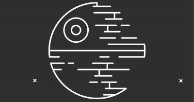 Death Star schematic.