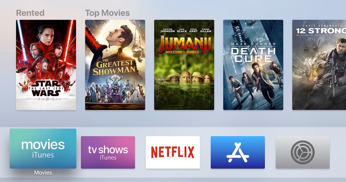Apple TV movie page.