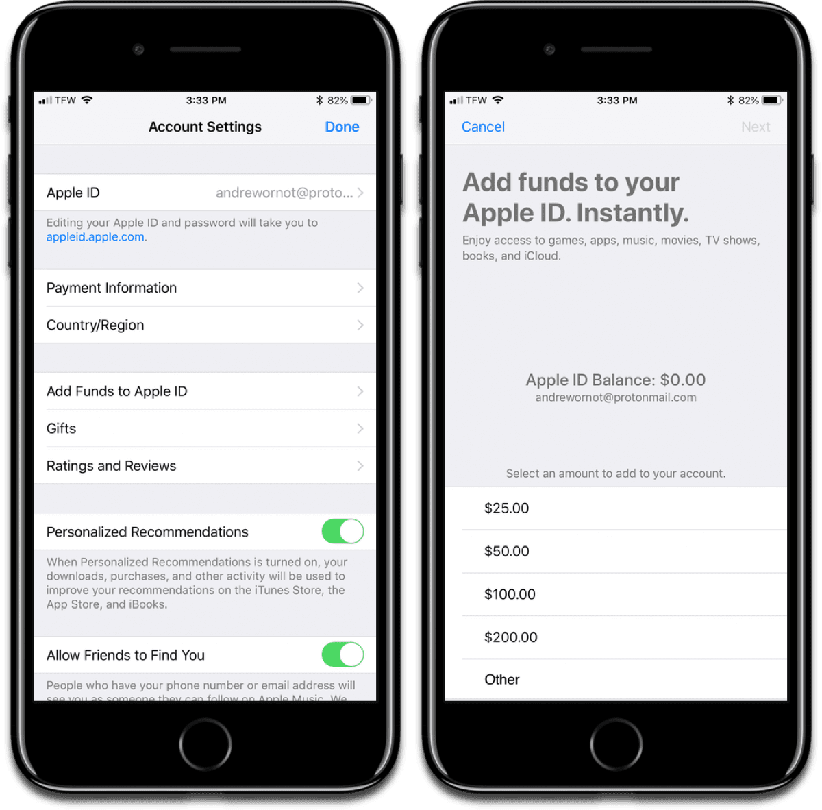 Add money on iOS and macOS with this new method.