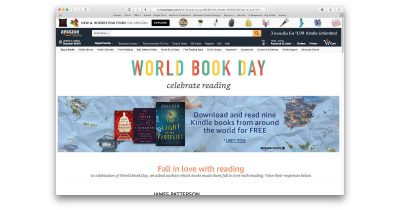 Amazon World Book Day promotion