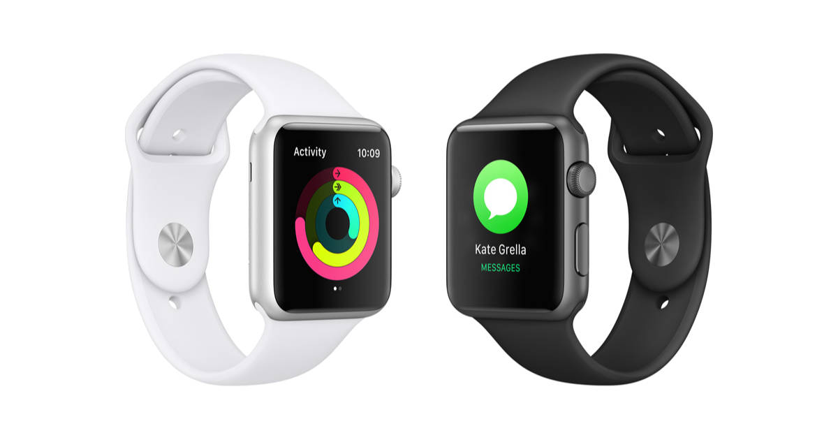 Apple Watch Activity and Messages watch faces