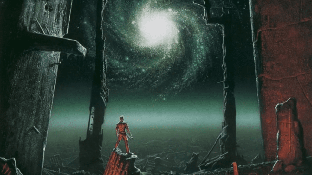 An image from Asimov's Foundation book series.