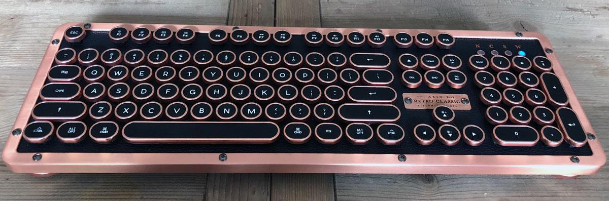 Azio Retro Classic BT Keyboard