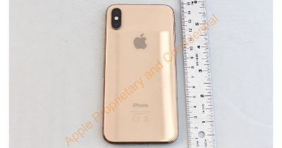 The FCC's Gold iPhone X