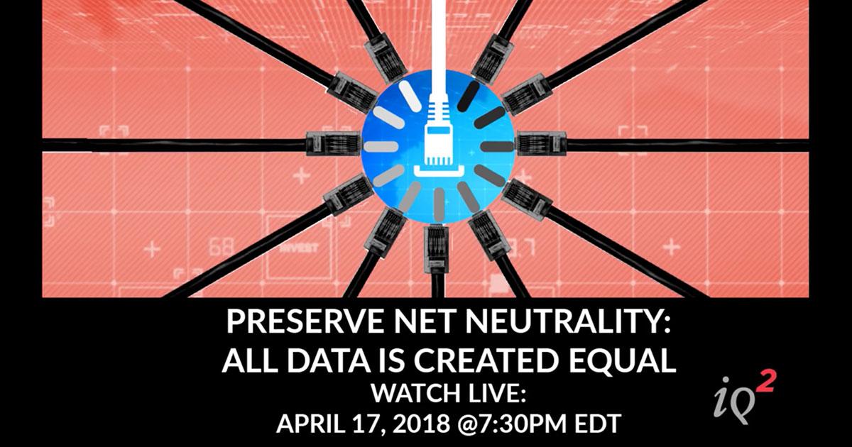 Intelligence Squared Net Neutrality Debate