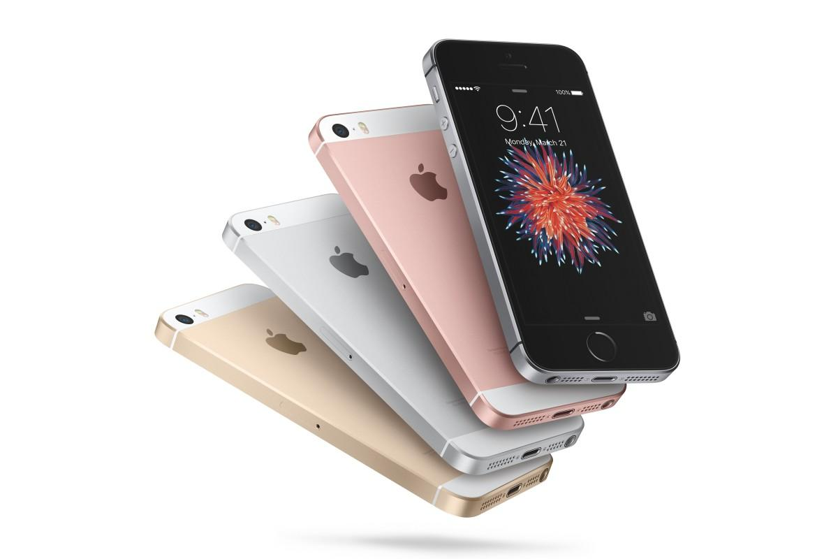 An iPhone SE 2 could appear this summer. This is an image of the first iPhone SE.
