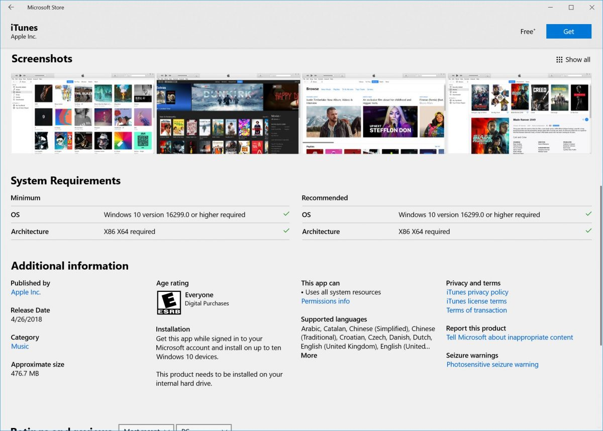 DownloadBureau | iTunes Finally Launches via the Microsoft
