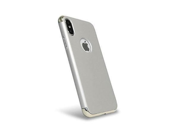 LuxArmor Executive iPhone X Case (Silver/Platinum): $26.99