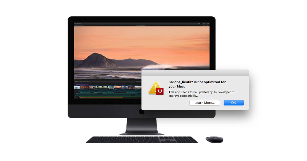 32-bit app warning in macOS High Sierra
