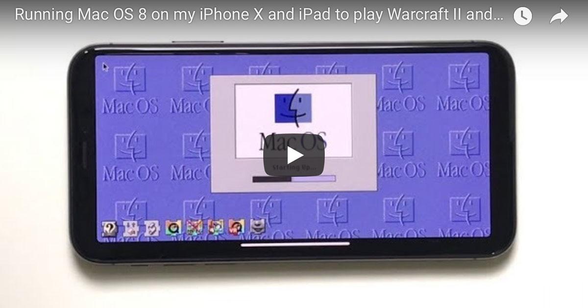 Run Mac OS on Phone X and iPad