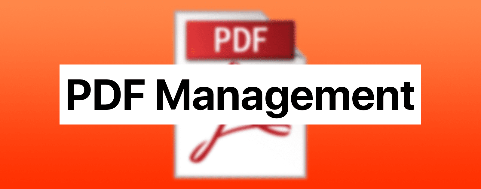 What's the Best Method to Manage PDFs on Apple Devices